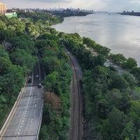 Photo taken at George Washington Bridge Pedestrian & Bike Path by Soundz O. on 8/21/2016