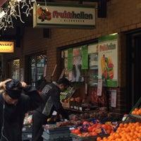 Photo taken at Frukthallen by Alex F. A. on 1/11/2014