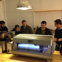 Photo taken at Nømad Coffee Lab & Shop by BaristaKim.es on 2/12/2014