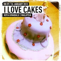 Photo taken at I Love Cakes by AG on 1/26/2013