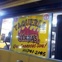Photo taken at Taqueria Llamas by Tatiana Margarita V. on 5/18/2013