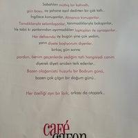 Photo taken at Cafe Cafen Bistro by Aysun K. on 8/11/2013