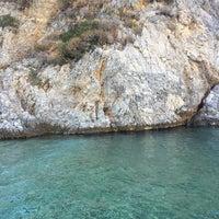 Photo taken at Poseidonio by Berk on 9/14/2017