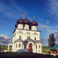 Foto scattata a Успенский Трифонов монастырь da Александра Ф. il 7/25/2013