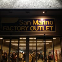 San Marino Factory Outlet (сейчас закрыто) — 27 подсказки(-ок)
