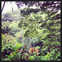 Photo taken at Waimea Valley Adventure Park by Project G. on 11/15/2013