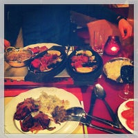 Photo taken at Indian Restaurant Ganesha by Maarten V. on 1/22/2013