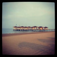 Photo taken at Voyage Beach by Eliff on 7/14/2013