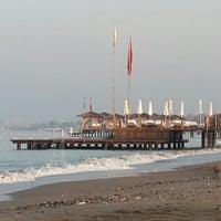 Photo taken at Voyage Beach by Eliff on 7/13/2013