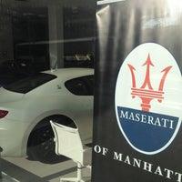 Das Foto wurde bei Maserati of Manhattan von Jameson am 5/2/2013 aufgenommen