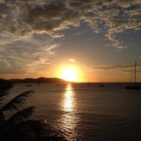 Photo taken at Petite Plage by Jameson on 12/25/2013