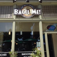 Photo taken at Bagel Me by Alexandra L. on 5/18/2014