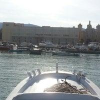 Photo taken at Batroun's Fishermen's Port by francois m. on 3/16/2014