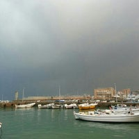 Photo taken at Batroun's Fishermen's Port by francois m. on 12/4/2013