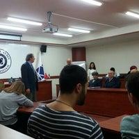 Photo taken at Istanbul Aydin Universitesi Oval Salon by Gülcan K. on 10/20/2015