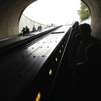 Photo taken at Dupont Circle Metro Station by André P. on 8/18/2013