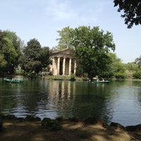 Photo taken at Villa Borghese by Olga G. on 4/29/2013
