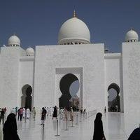 Photo taken at Sheikh Zayed Grand Mosque by Marat G. on 3/8/2013