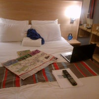 Photo taken at Travelodge London Central City Road by Zuzana L. on 5/7/2014