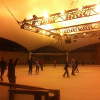 Photo taken at Crown Center Ice Terrace by Sarah E. on 11/1/2013