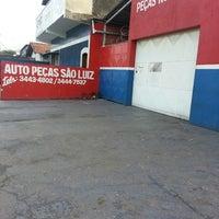 Photo taken at Auto Pecas Sao Luis by Ricardo M. on 10/22/2013