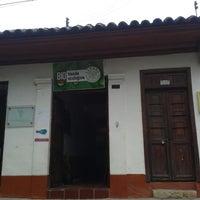 Photo taken at Tienda Ecológica Jikama by Camilo M. on 4/12/2014