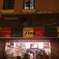 Photo taken at Juguería San Agustín by Pamela L. on 8/12/2018