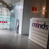 Photo taken at Minds English School by Thiago R. on 5/6/2013