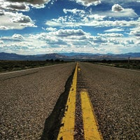 Photo taken at Extraterrestrial Highway by A V. on 6/10/2015