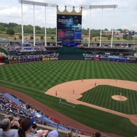 Photo taken at Kauffman Stadium by Jackie S. on 5/26/2013