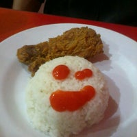 Photo taken at oLive Fried Chicken by Amanda M. on 4/23/2013