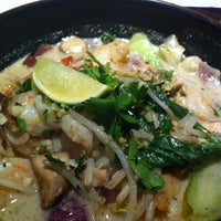 Photo taken at wagamama by Lyndsay S. on 1/1/2013