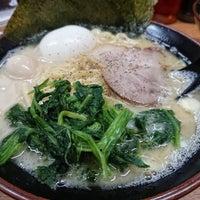 3/2/2018にダムの人がらっち家 横浜家系ラーメンで撮った写真