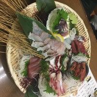 Photo taken at 魚がし 一番町店 by Katsumi E. on 9/9/2017