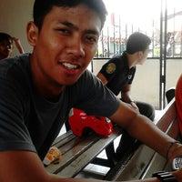Photo taken at Stasiun Gedangan by Aldiansyah N. on 3/27/2013