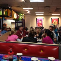 Photo taken at Chuck E. Cheese's by Delcie L. on 10/27/2012