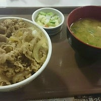 Photo taken at すき家 富山新屋店 by たか.@ on 1/9/2016