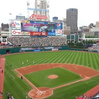 Photo taken at Progressive Field by Andrew S. on 6/2/2013