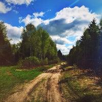 Photo taken at лес и кукушка by Елена И. on 5/3/2014