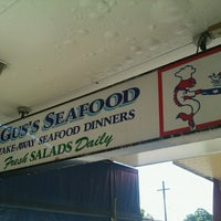 Photo taken at Gus's Seafood by Rebecca H. on 5/14/2013