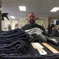 Photo taken at EvCC School of Cosmetology by Christian D. on 5/20/2017