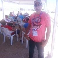 Photo taken at 17. Akdeniz Oyunları Yelken Yarışları by Mustafa Z. on 6/22/2013