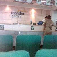 Photo taken at Bank Syariah Mandiri Purwokerto by Liya A. on 5/14/2013