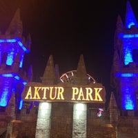 Photo taken at Aktur Lunapark by Ne Y. on 4/27/2013