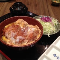 Photo taken at Tonkatsu by Terazawa by Eric L. on 10/4/2013