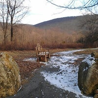 Photo taken at Hubbard Lodge Trail, Rte 9 by christopher d. on 2/3/2013