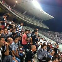 Photo taken at Basın Tribünü by Ali Eren B. on 8/29/2013