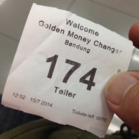 Photo taken at Golden Money Changer (GMC) by deny r. on 7/15/2014