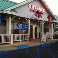 Photo taken at Outback Steakhouse by 😜 Heather S. on 12/2/2012