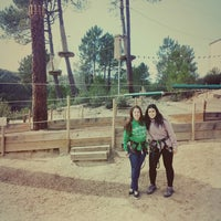 Photo taken at Forestal Park by Aroa V. on 2/23/2014